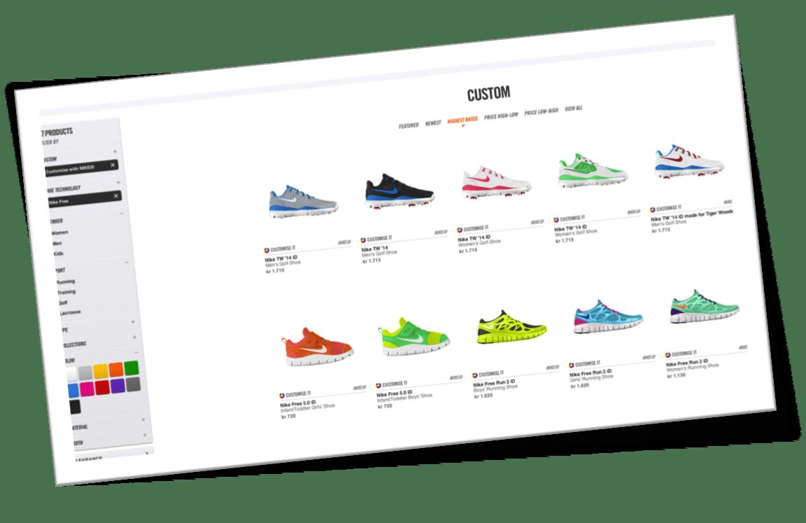 Nike Free i dit eget design Design din Nike Free sko