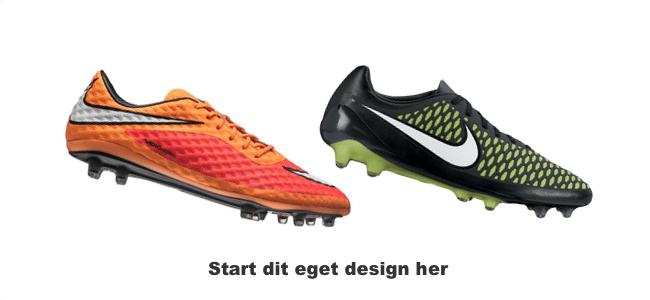 Fodboldsko fra NikeID i eget design NikeID Fodboldstøvle