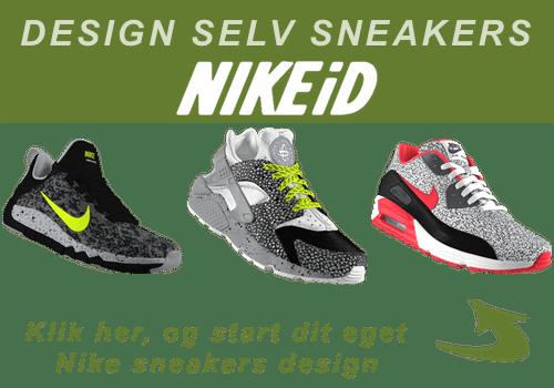 Design selv dine Nike Air Huarache Run Huarache run iD