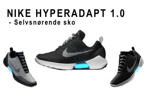 Nike HyperAdapt selvsnørende sko Nike HyperAdapt 1.0